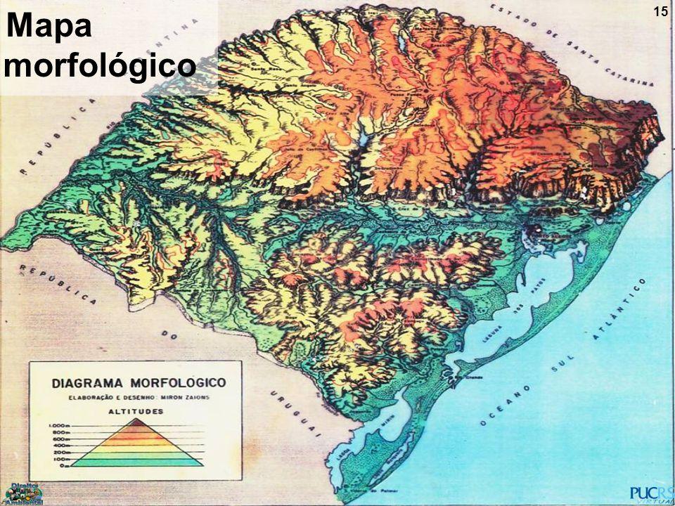15 Mapa morfológico