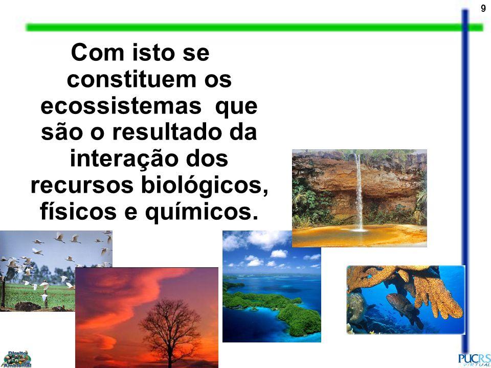 30 Mapa das áreas prioritárias para conservação