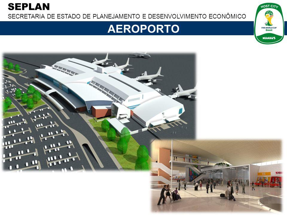 SEPLAN SECRETARIA DE ESTADO DE PLANEJAMENTO E DESENVOLVIMENTO ECONÔMICO AEROPORTO