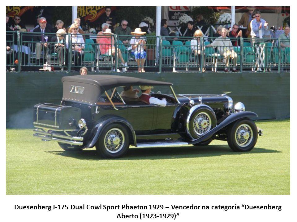 Duesenberg J-175 Dual Cowl Sport Phaeton 1929 – Vencedor na categoria Duesenberg Aberto (1923-1929)