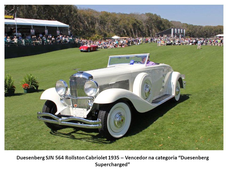 Duesenberg SJN 564 Rollston Cabriolet 1935 – Vencedor na categoria Duesenberg Supercharged