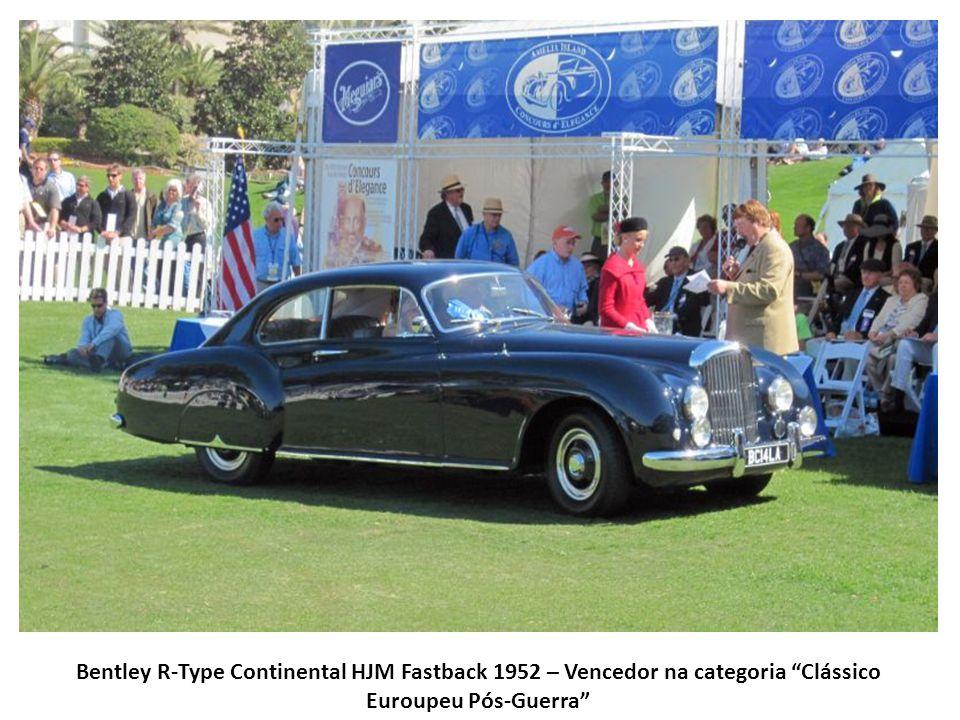 Bentley R-Type Continental HJM Fastback 1952 – Vencedor na categoria Clássico Euroupeu Pós-Guerra