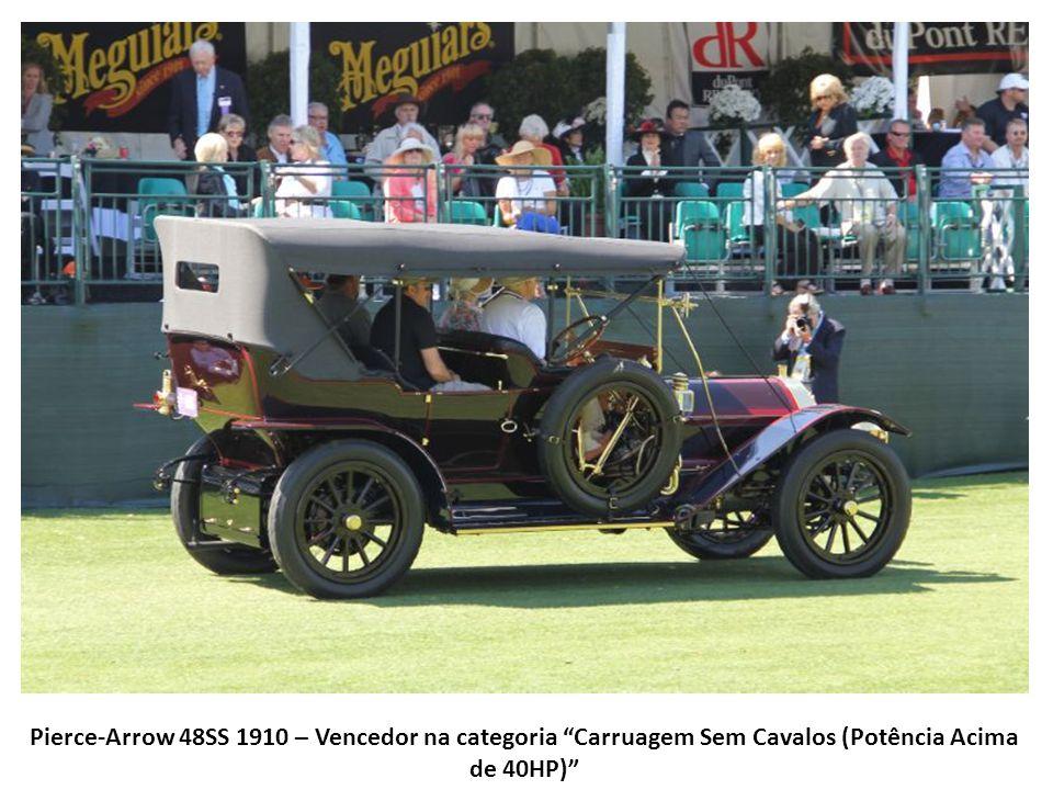 Pierce-Arrow 48SS 1910 – Vencedor na categoria Carruagem Sem Cavalos (Potência Acima de 40HP)