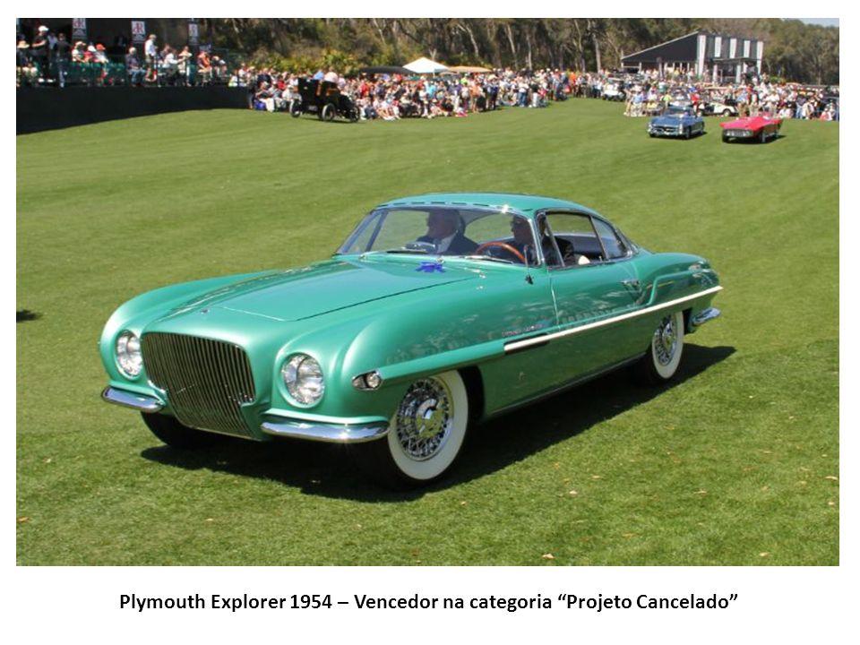 Plymouth Explorer 1954 – Vencedor na categoria Projeto Cancelado