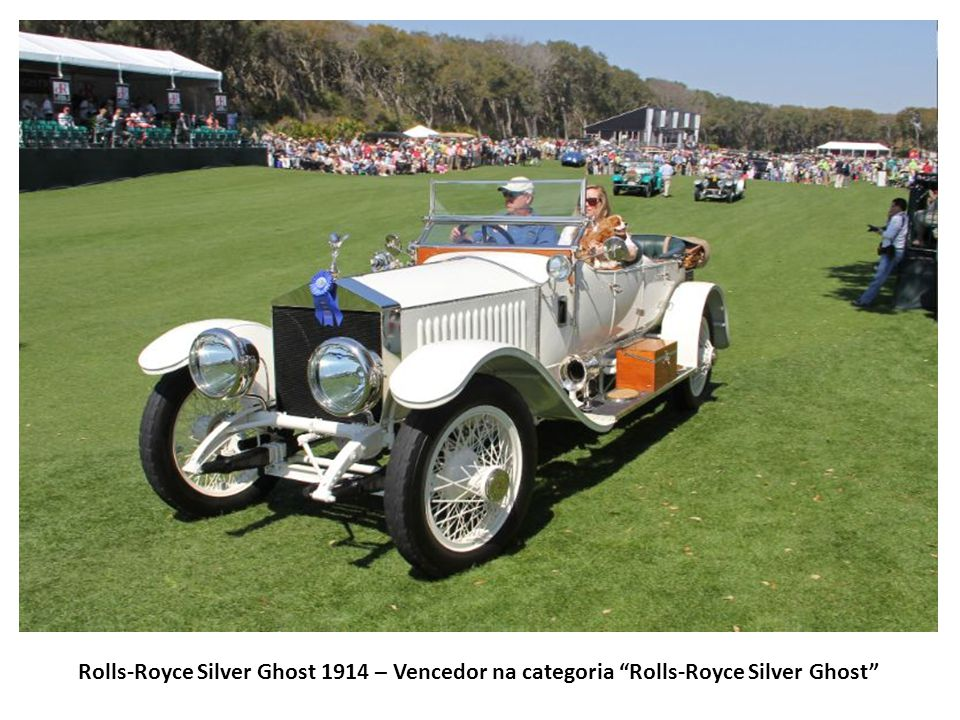 Rolls-Royce Silver Ghost 1914 – Vencedor na categoria Rolls-Royce Silver Ghost