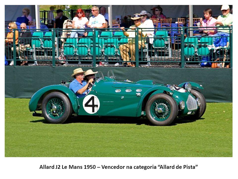 Allard J2 Le Mans 1950 – Vencedor na categoria Allard de Pista