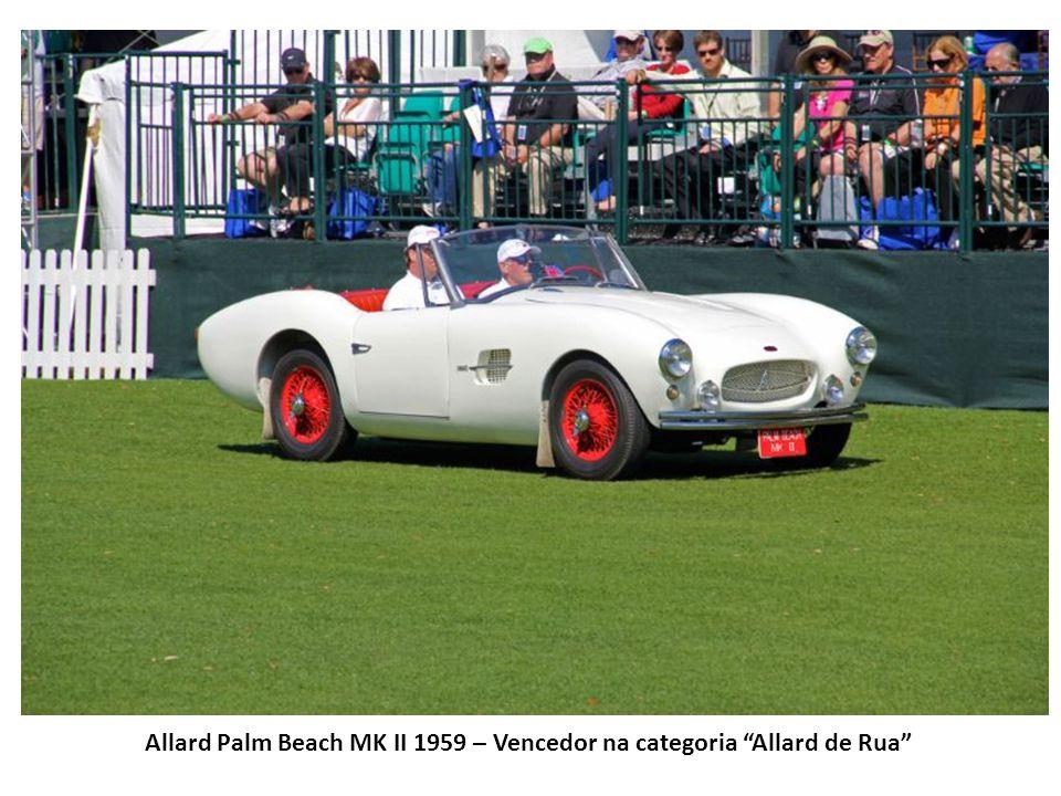 Allard Palm Beach MK II 1959 – Vencedor na categoria Allard de Rua