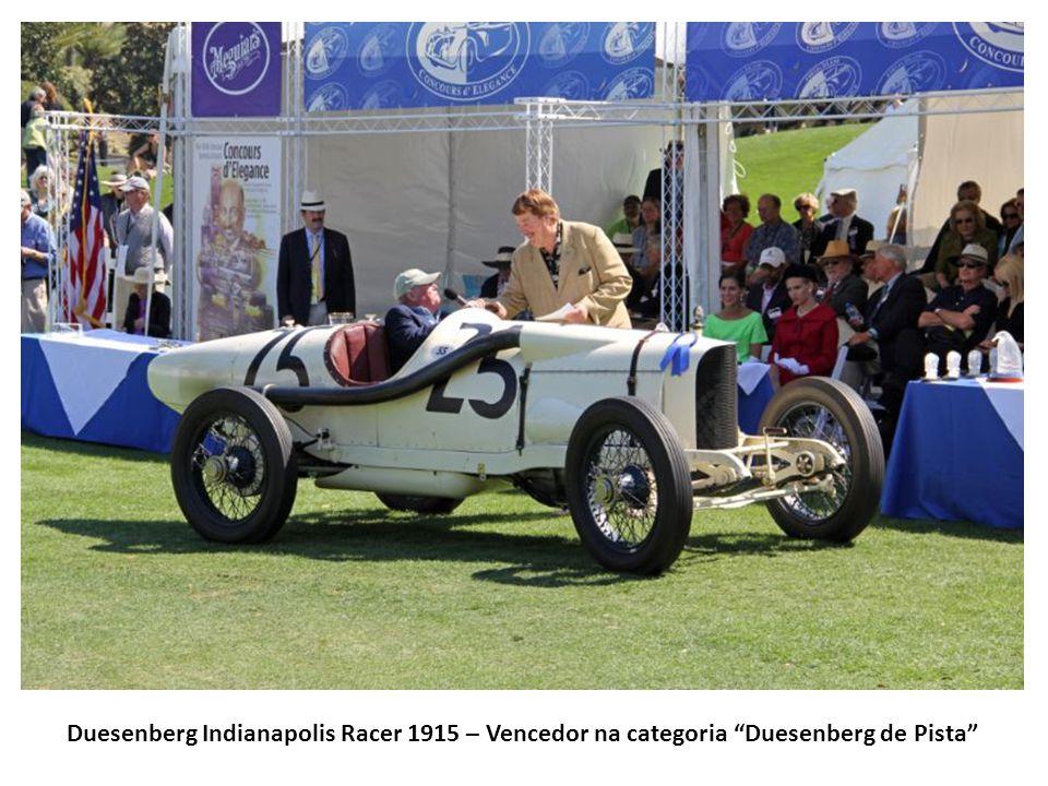 Duesenberg Indianapolis Racer 1915 – Vencedor na categoria Duesenberg de Pista