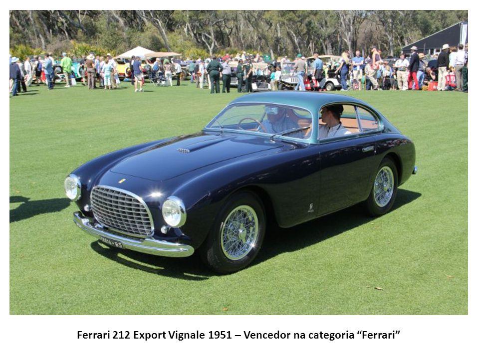 Ferrari 212 Export Vignale 1951 – Vencedor na categoria Ferrari