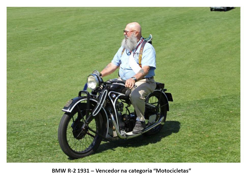 BMW R-2 1931 – Vencedor na categoria Motocicletas