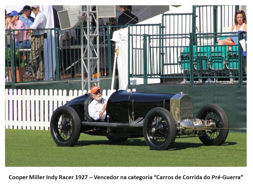 Cooper Miller Indy Racer 1927 – Vencedor na categoria Carros de Corrida do Pré-Guerra