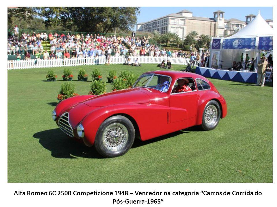 Alfa Romeo 6C 2500 Competizione 1948 – Vencedor na categoria Carros de Corrida do Pós-Guerra-1965