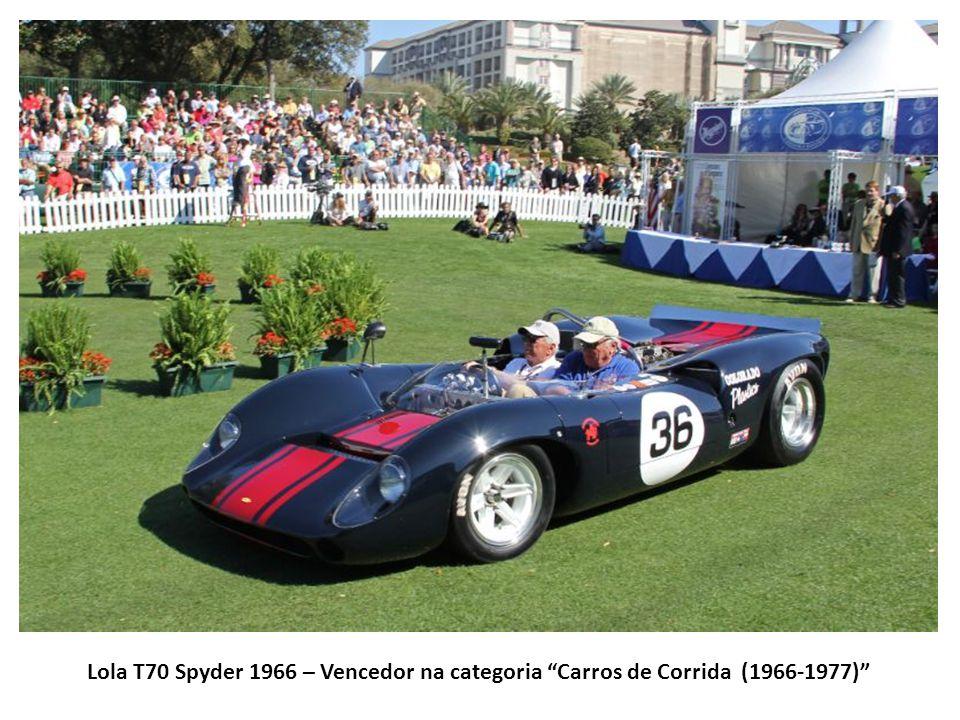Lola T70 Spyder 1966 – Vencedor na categoria Carros de Corrida (1966-1977)