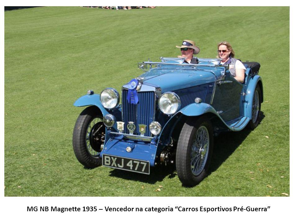 MG NB Magnette 1935 – Vencedor na categoria Carros Esportivos Pré-Guerra