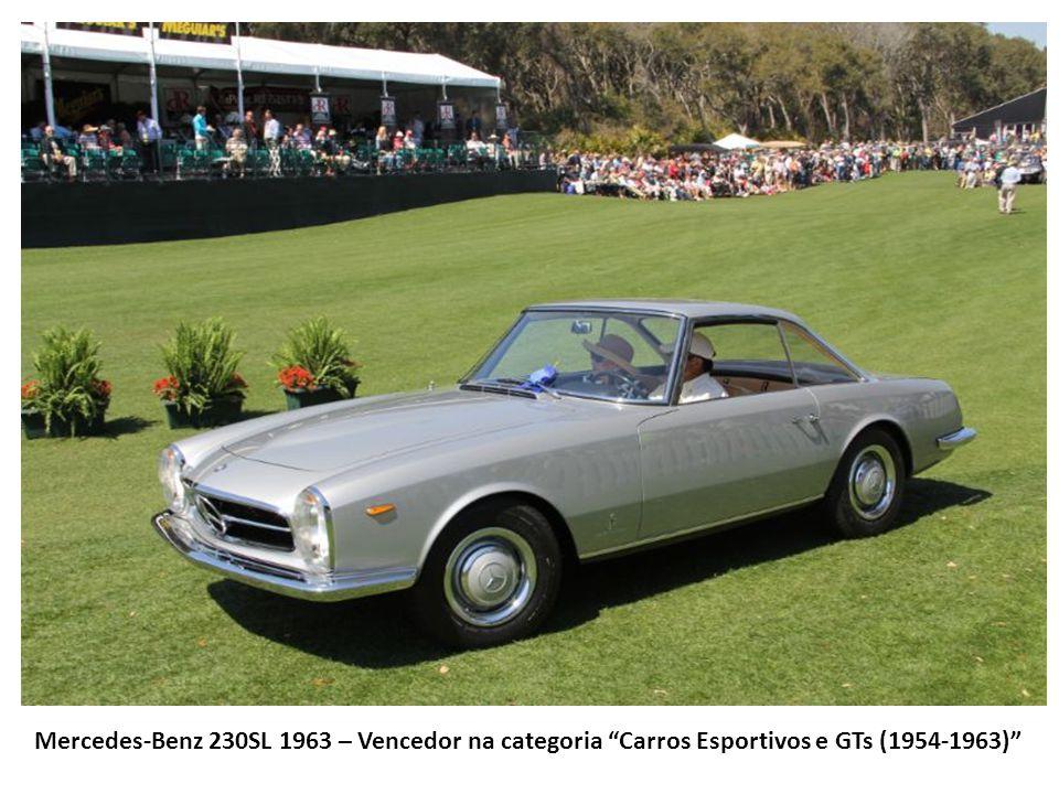 Mercedes-Benz 230SL 1963 – Vencedor na categoria Carros Esportivos e GTs (1954-1963)