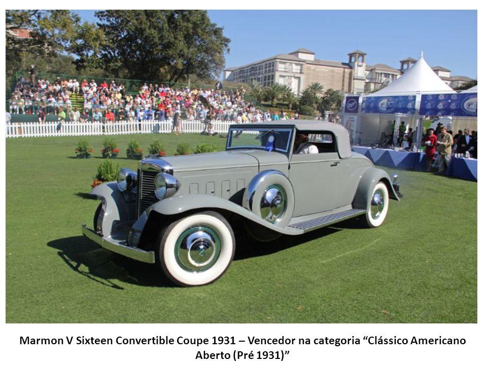 Auburn 851 SC Boattail Speedster 1935 – Vencedor na categoria Clássico Americano Aberto (1932-1936)