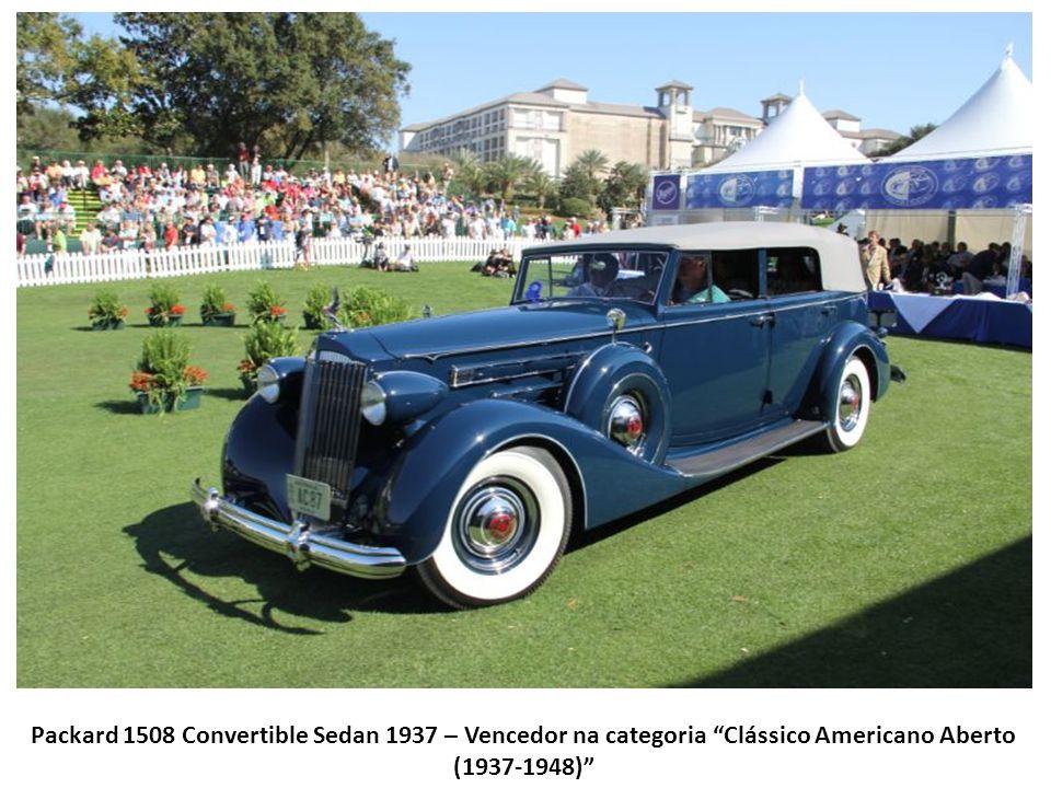 Mercury Turnpike Cruiser Hard Top 1957 – Vencedor na categoria Produção Americana (Pós Guerra)