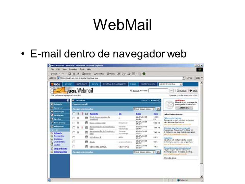 WebMail E-mail dentro de navegador web