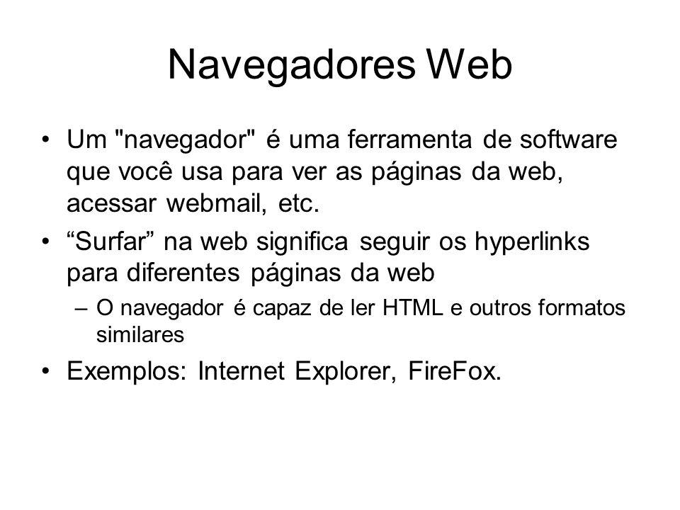 Navegadores Web Um