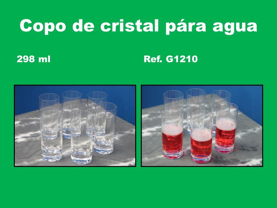Copo de cristal pára agua 298 mlRef. G1210