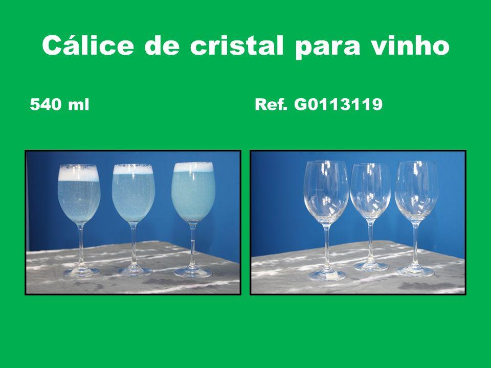 Cálice de cristal para vinho 540 mlRef. G0113119