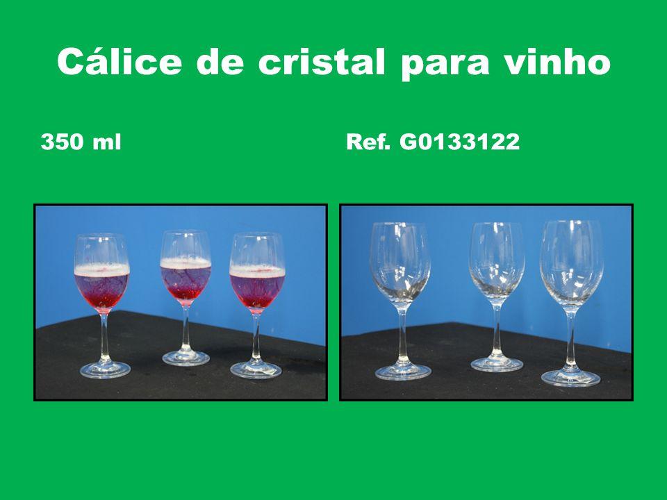 Cálice de cristal para vinho 350 mlRef. G0133122