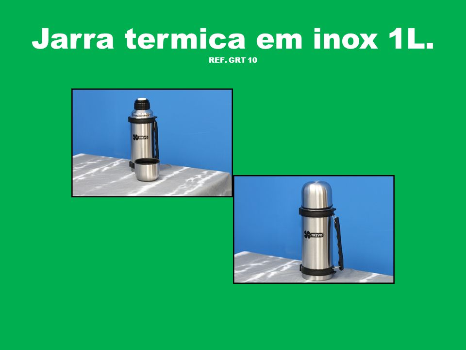 Jarra termica em inox 1.9L. REF. GRT 19