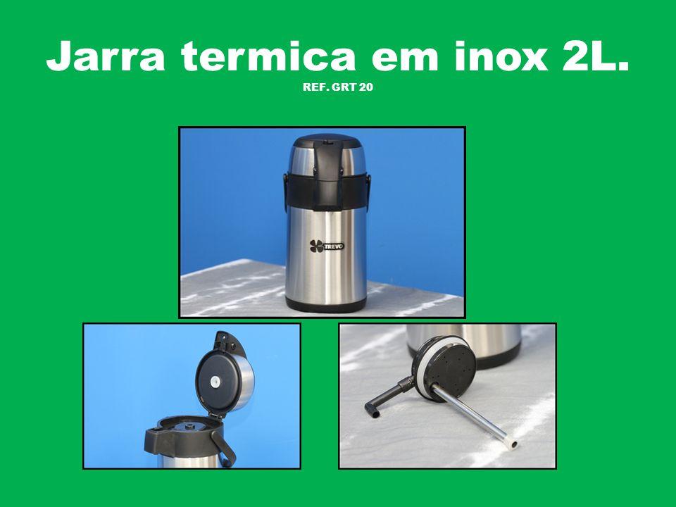 Jarra termica em inox 2L. REF. GRT 20