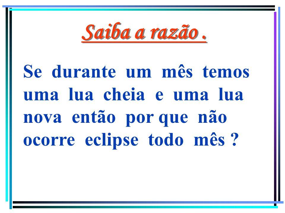 ECLIPSE LUNAR A lua se encontra atrás do cone de sombra da terra. Fase da lua: LUA CHEIA