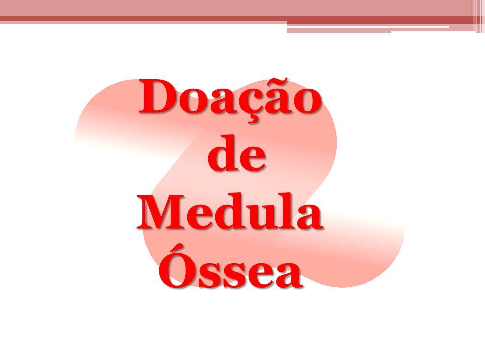 Doação de de Medula Óssea