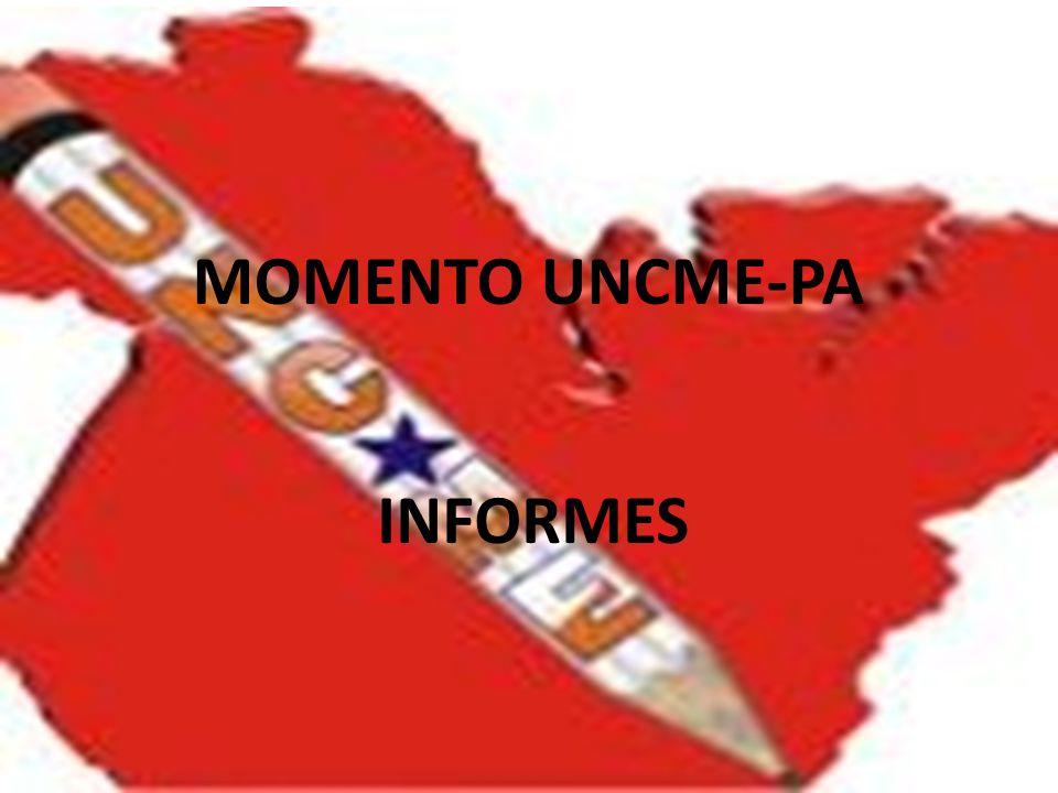 MOMENTO UNCME-PA INFORMES