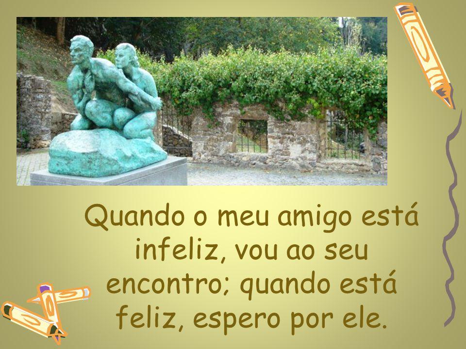 www.planetapowerpoint.com.br É fácil adquirir um inimigo, difícil, é conquistar um amigo.