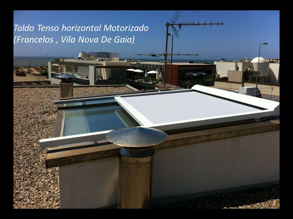 Toldo Tenso horizontal Motorizado (Francelos, Vila Nova De Gaia)