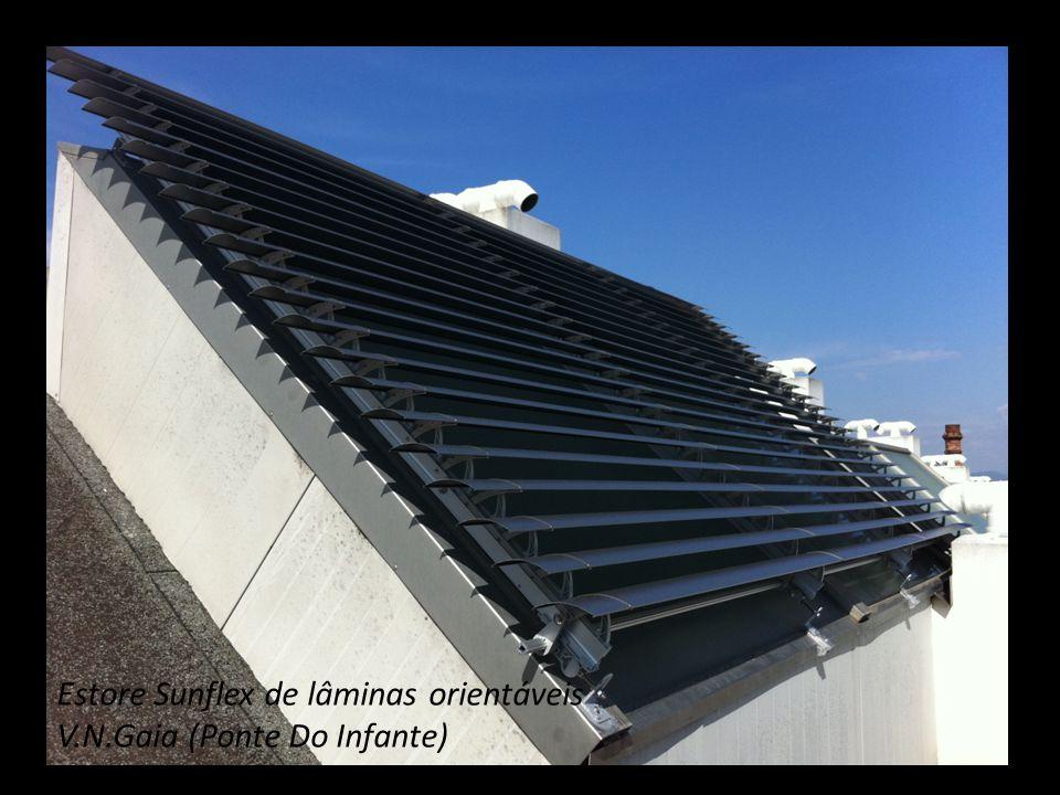 Estore Sunflex de lâminas orientáveis V.N.Gaia (Ponte Do Infante)