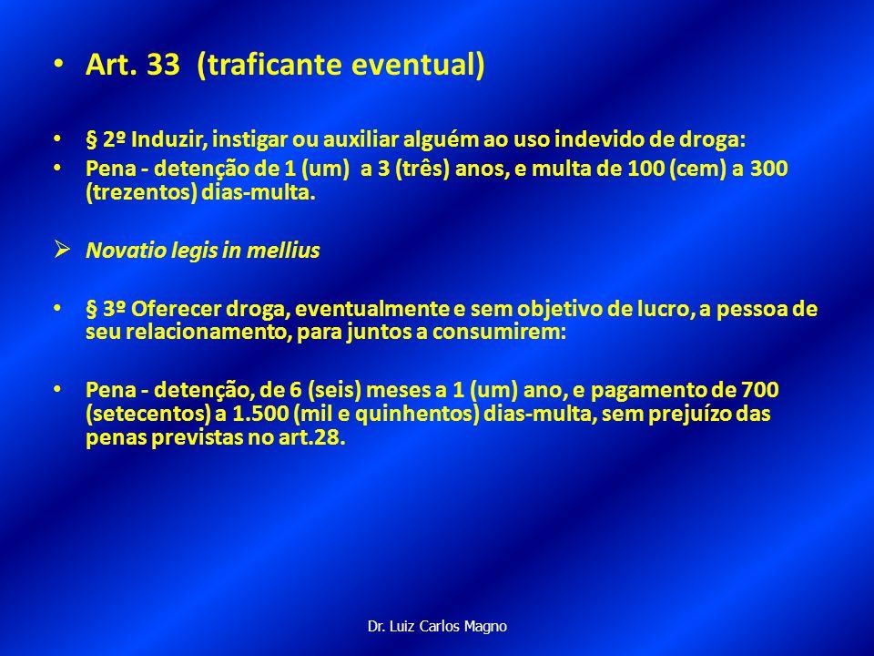 Dr. Luiz Carlos Magno Comentários à Nova Lei de drogas nº. 11.343/2006