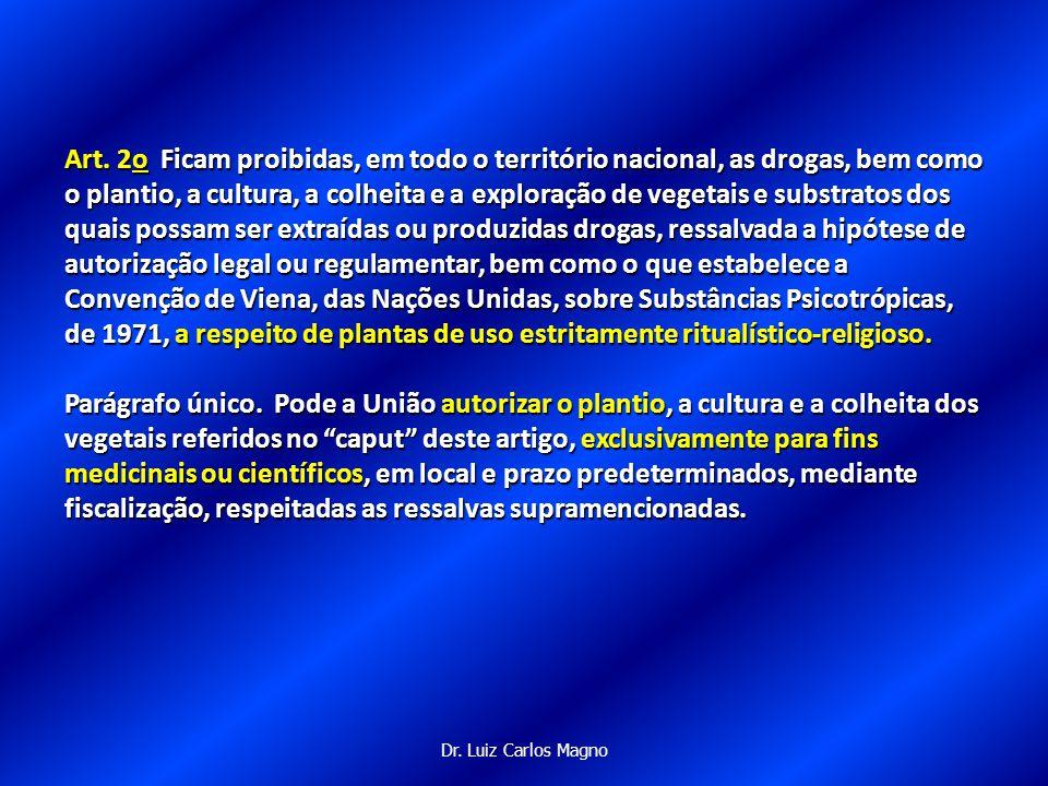 Dr.Luiz Carlos Magno Dos Crimes e Das Penas ART.28.