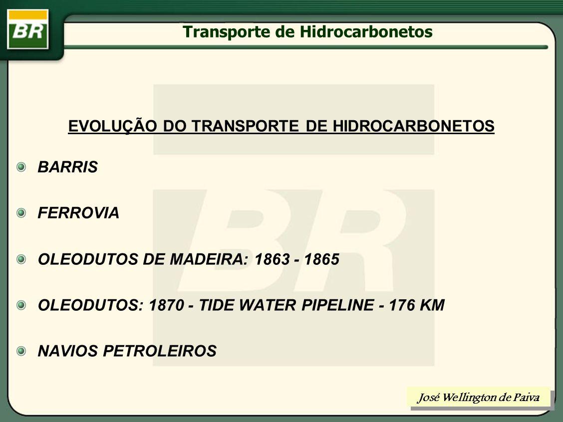 Transporte de Hidrocarbonetos José Wellington de Paiva Fluxograma de Processo da ETE AR EFLUENTE COAGULANTEFLOCULANTE FLOTADOR EMISSÁRIO SUBMARINO ÓLEO PARA ETO ÁGUA TRATADA ÓLEO RECUPERADO