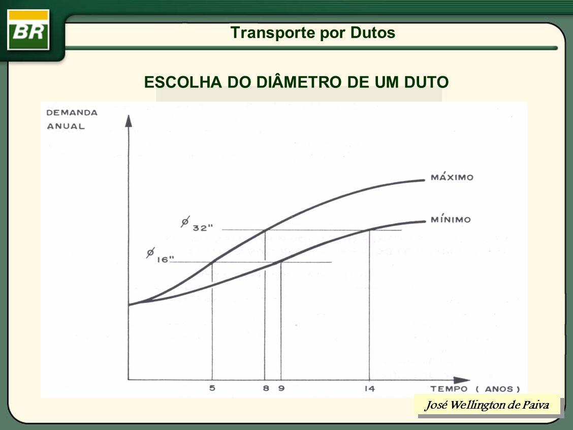 Transporte por Dutos TRANSPORTE DE HIDROCARBONETOS POR DUTOS José Wellington de Paiva