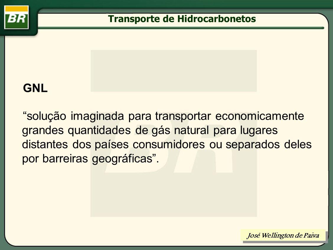 Transporte de Hidrocarbonetos LGN ou GNL José Wellington de Paiva