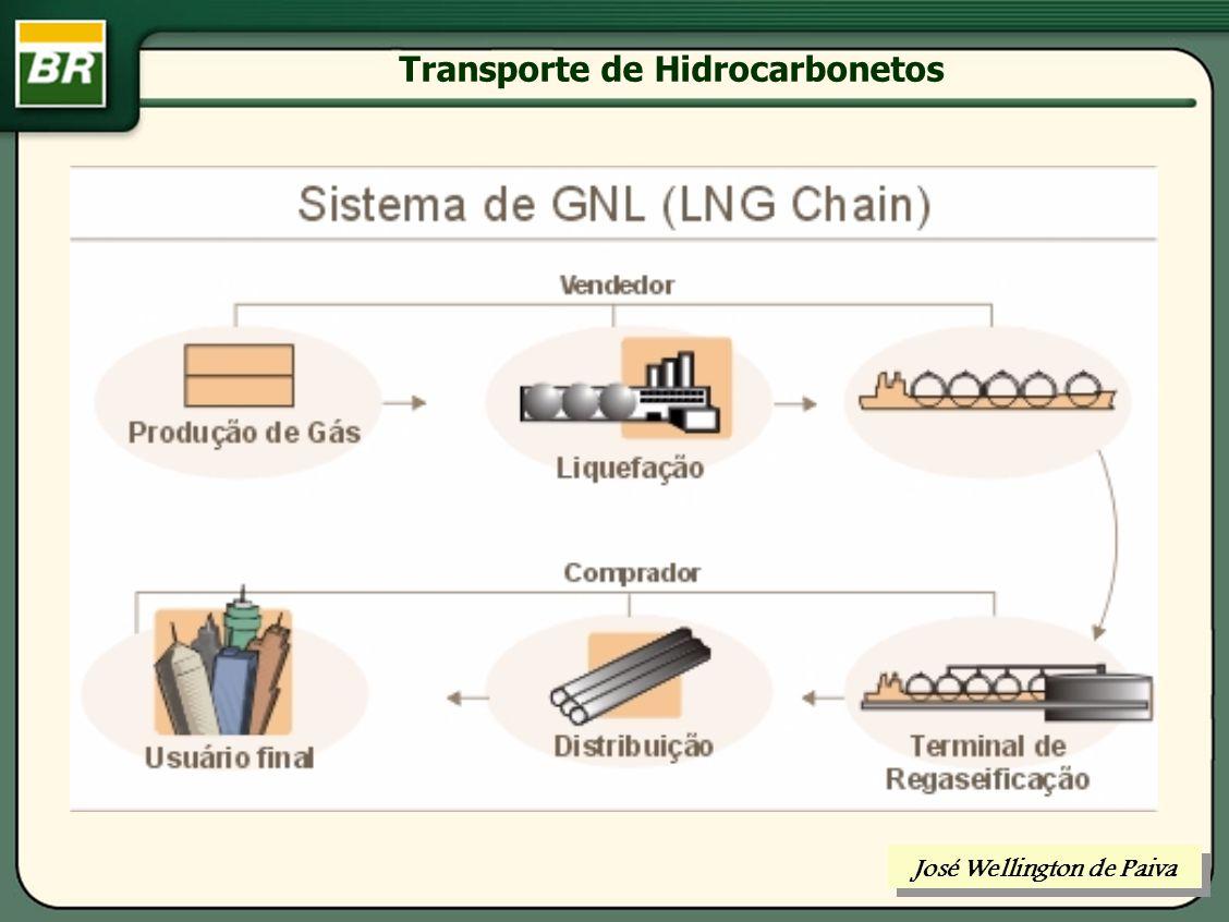 Transporte de Hidrocarbonetos GNL solução imaginada para transportar economicamente grandes quantidades de gás natural para lugares distantes dos países consumidores ou separados deles por barreiras geográficas.