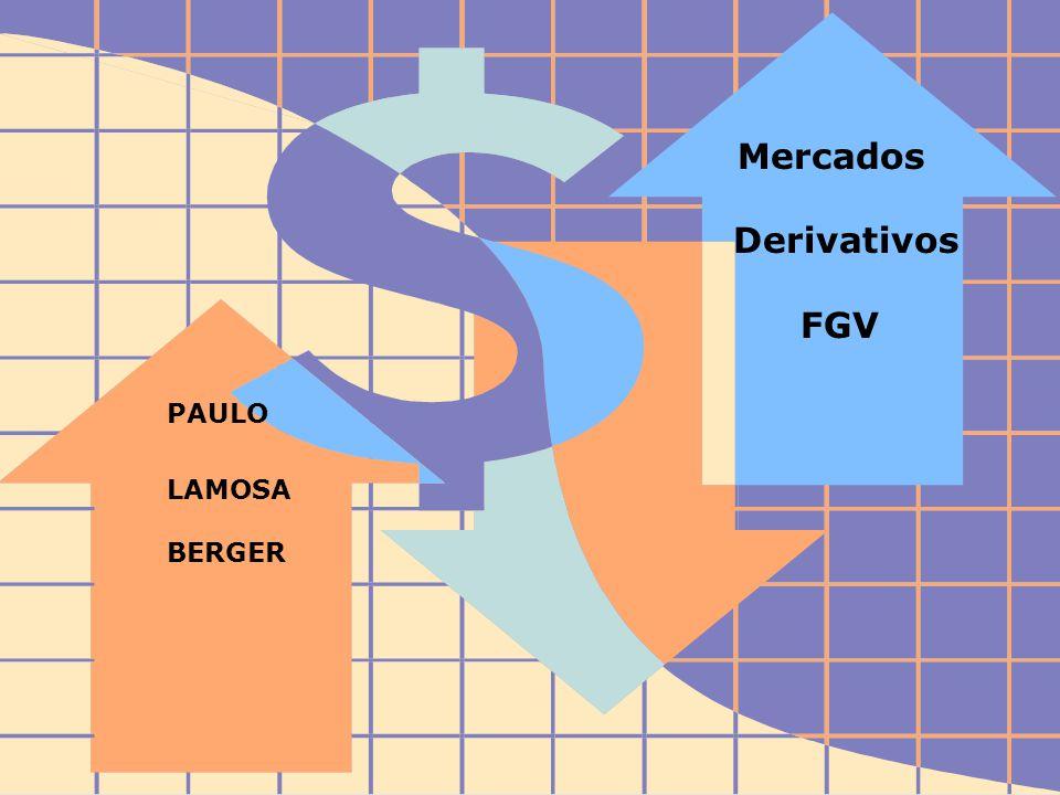 FIDC - Diagnóstico e Perspectivas Derivativos 1 Mercados Derivativos FGV PAULO LAMOSA BERGER