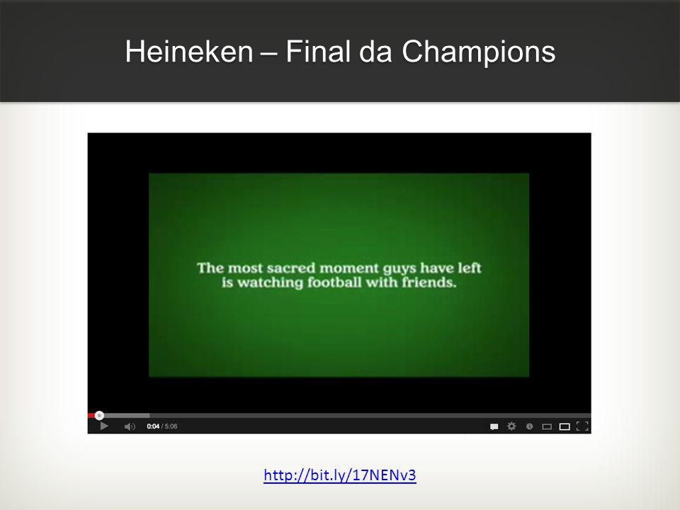 Heineken – Final da Champions http://bit.ly/17NENv3