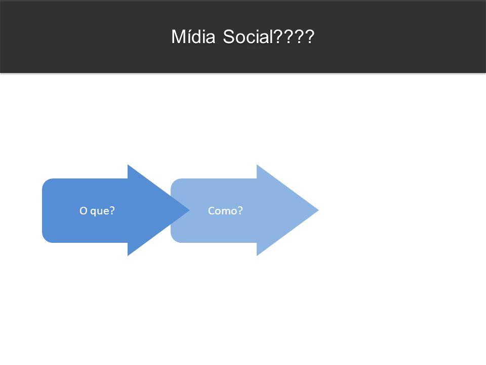 Como? Mídia Social???? O que?
