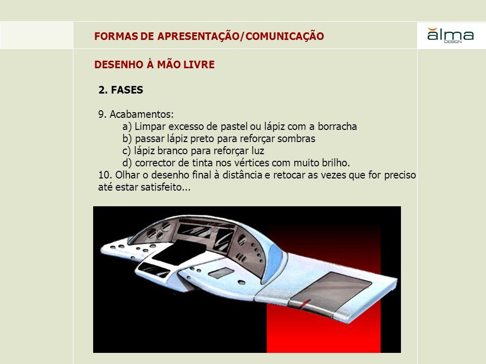FORMAS DE APRESENTAÇÃO/COMUNICAÇÃO 3.TREINO 1.