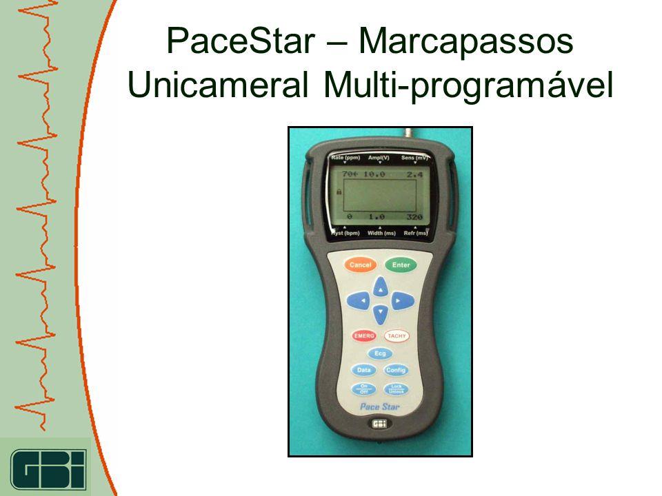 PaceStar – Marcapassos Unicameral Multi-programável