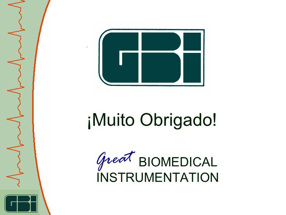 ¡Muito Obrigado! GALIX BIOMEDICAL INSTRUMENTATION