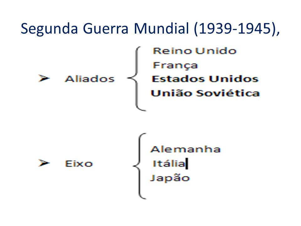 Segunda Guerra Mundial (1939-1945),