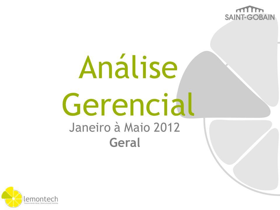 Janeiro à Maio 2012 Geral Análise Gerencial