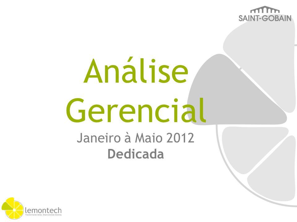 Janeiro à Maio 2012 Dedicada Análise Gerencial