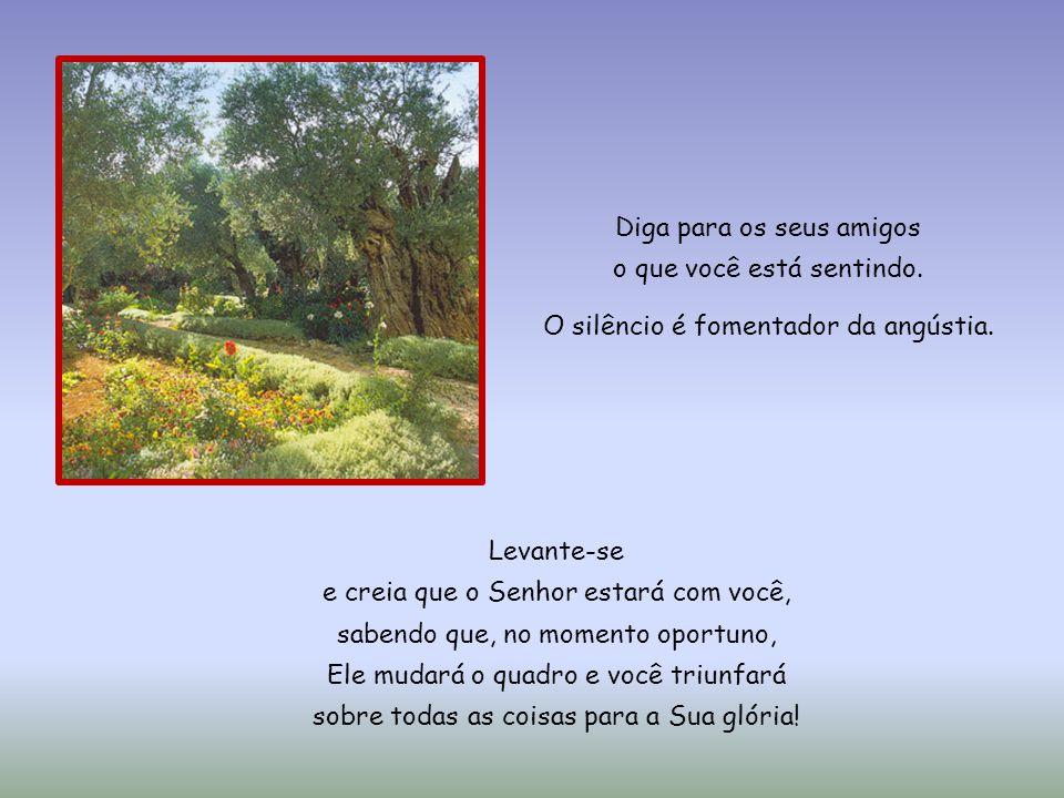 Dos momentos de suplício de Jesus no Jardim das Oliveiras, podemos encontrar, em nossos anos de existência, pontos semelhantes, e deles tirar proveito